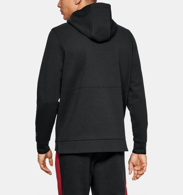 Mens UA Recover Fleece Graphic Hoodie